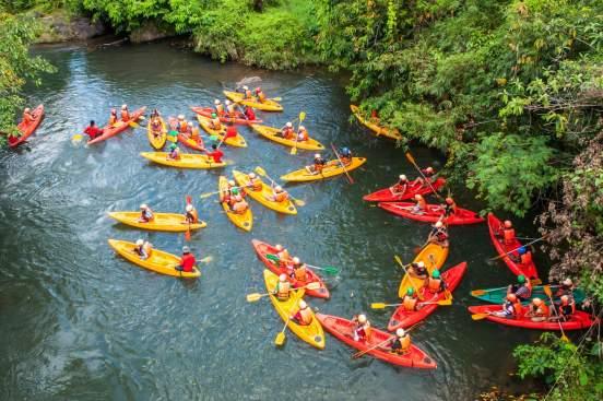 canoe new evasion riviere