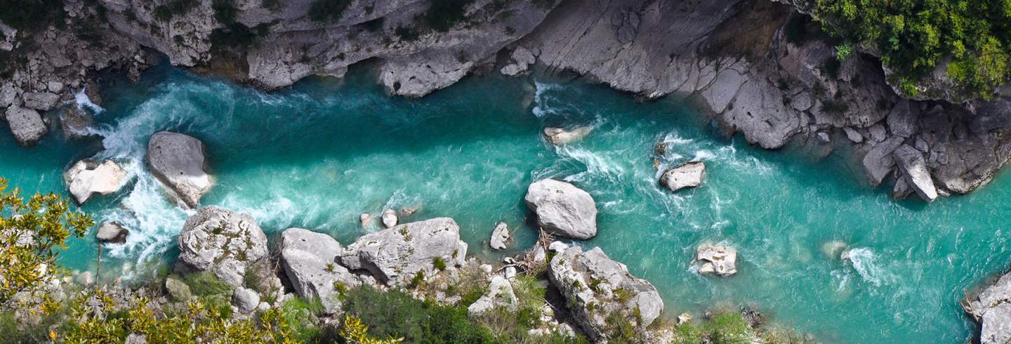 verdon gorges canyon